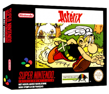 jeu video asterix snes