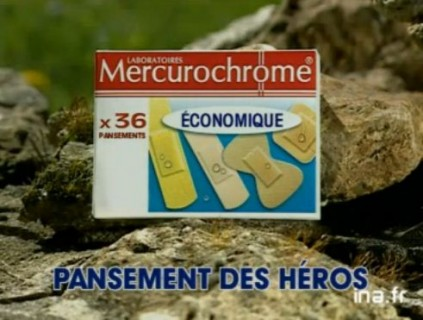 merucrochrome pansement heros