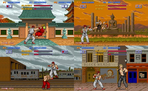street fighter jeu video retro gaming